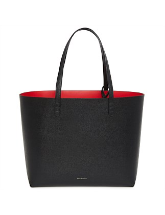 Saffiano Leather Large Tote Bag