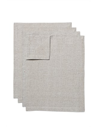 Sienna Placemat Set of 4 Taupe