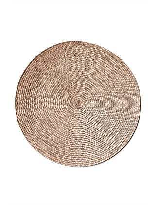 Paige Placemat Taupe