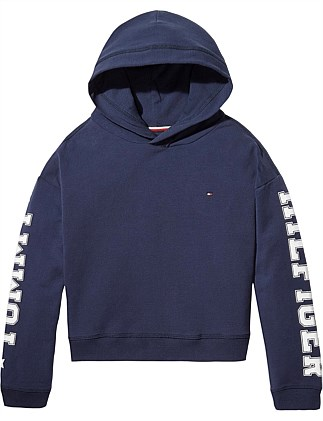 1bc1ab26 ESSENTIAL BRANDED SLEEVES HOODIE Special Offer On Sale. Tommy Hilfiger