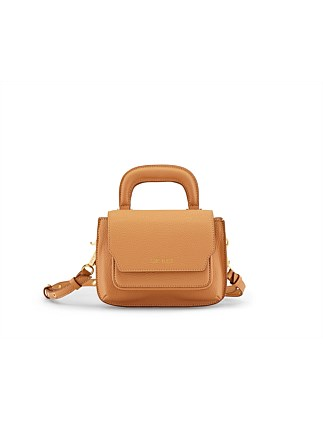 READER SATCHEL PEBBLE