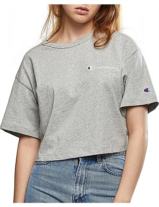 WOMENS CROPPED TEE