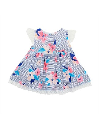 Abby Lace Sleeve Dress(3-24Months)