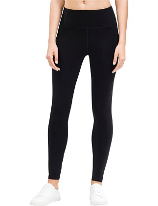 High Waist Jersey Full Length Legging