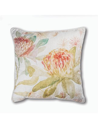Summer Garden Cushion Rust/Green
