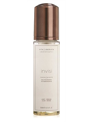 Invisi Foaming Tan Water - Light Medium