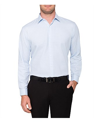 DOBBY CHECK CLASSIC FIT SHIRT