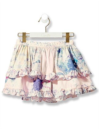 Harijuka Heiress Double Layer Frill Skirt(4-10Years)