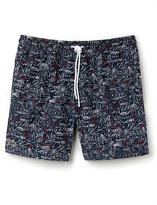Printed Swim Short