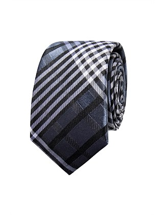 THICK PLAID TIE
