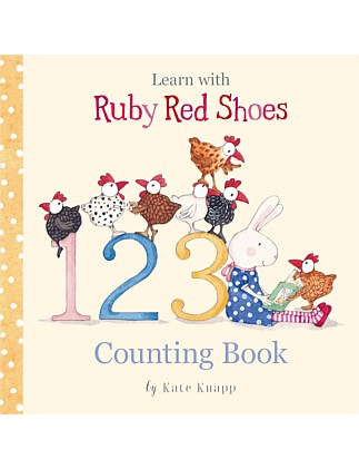 Learn With Ruby Red Shoes Counting Book