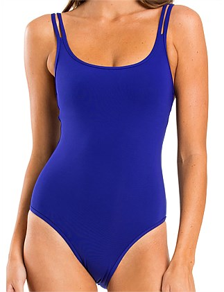 Double Strap One Piece