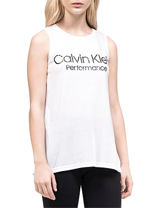 EPIC KNIT SOLID TANK WITH LOGO