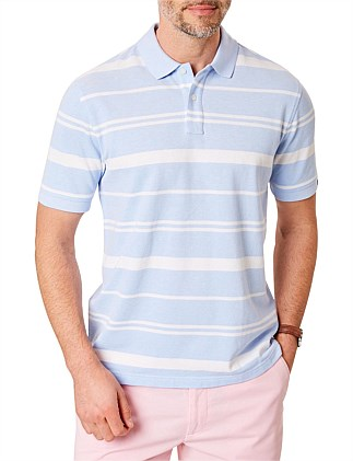 MULTI STRIPE OXFORD POLO