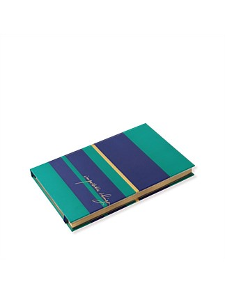 APW Notebook Impossible Things - Navy/Emerald