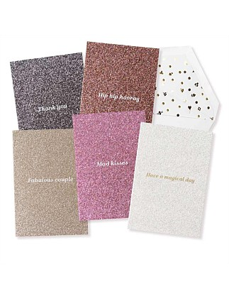 APW Boxed Card Set Glitter