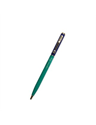 APW Small Pen - Impossible Things - Navy/Emerald