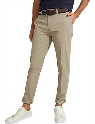Refined Cotton Stretch Trouser