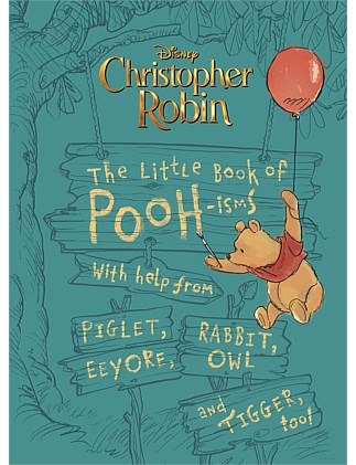 Disney Christopher Robin The Little Book of Pooh-isms
