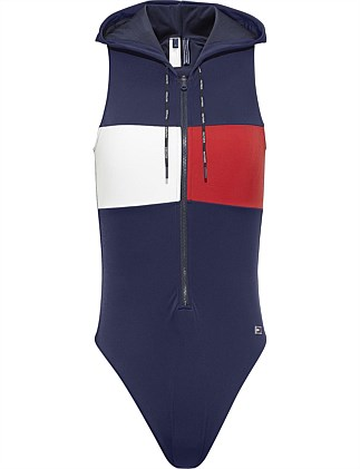 True Tommy One-Piece With Hood