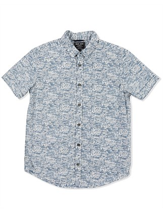Reverse Fade S/S Shirt (Boys 8-14 Years)