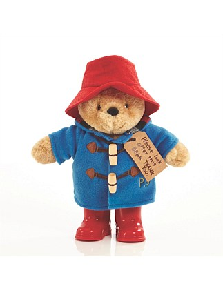 PADDINGTON BEAR WITH BOOTS & EMBROIDERED JACKET - MEDIUM