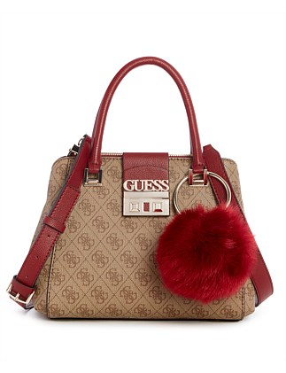 Logo Luxe Sml Society Satchel Guess