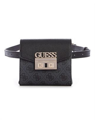 LOGO LUXE BELT BAG