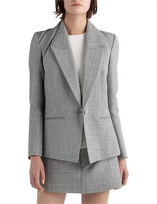 BINARY CHECK BLAZER