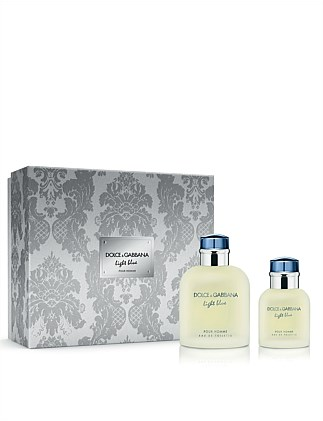Light Blue Pour Homme Eau de Toilette 125ml Gift Set