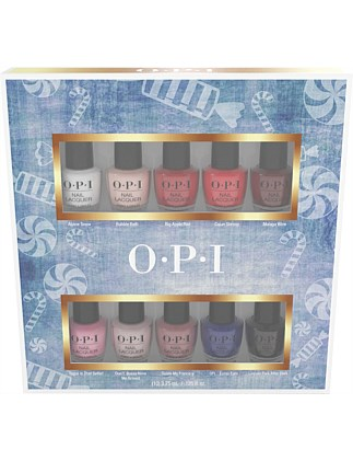 Nutcracker Nail Lacquer Mini 10 Pack