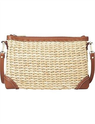 Val Straw Crossbody