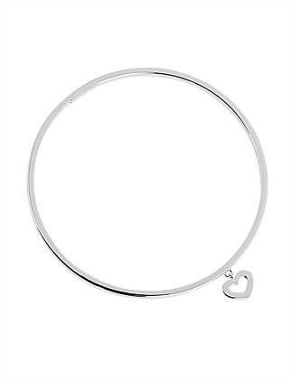Lost Island Heart Bangle