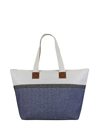 CHAMBRAY TOTE On Sale 33e846016ba74