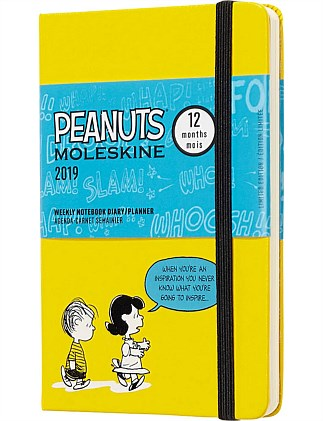 2019 Limited Peanuts - Weekly Notebook - Yellow