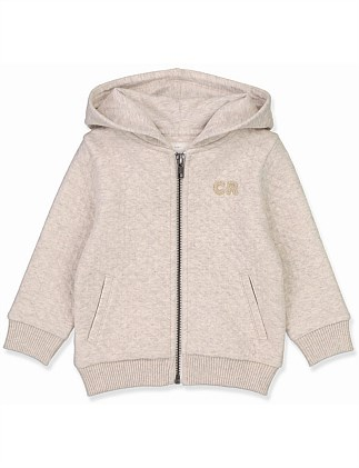 Quilted Hoodie (Baby Boys 0-2)