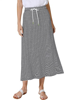 Easy Stripe Skirt