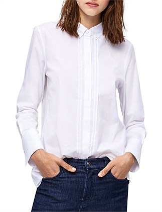CURRIER LONG SLEEVE COTTON SHIRT