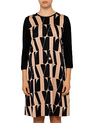 ARTEN VITA LONG SLEEVE JERSEY DRESS