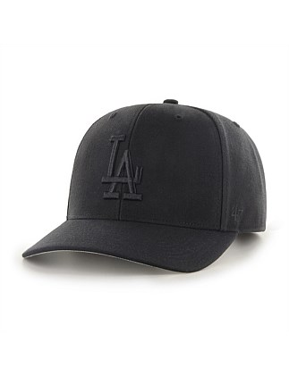 LA Dodgers Black/Black Audible Snapback '47 MVP DP