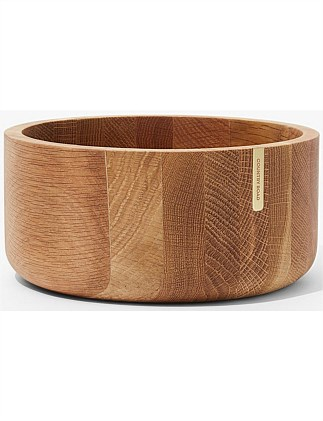 Theo Medium Timber Salad Bowl