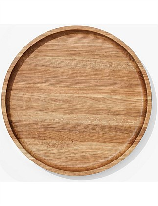 Theo Timber Shallow Bowl