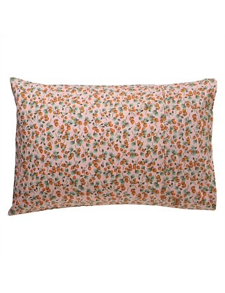 THE PATCH PEACH SINGLE PILLOWCASE