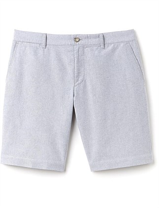 Slim Fit Oxford Bermuda Short