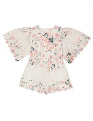 Petunia Cotton Romper (8-16 Years)