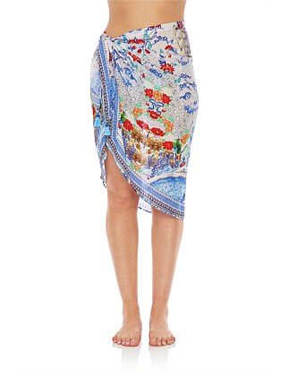 Geisha Gateways Short Tassel Sarong