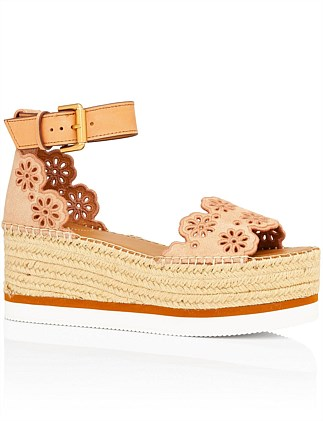 Lace Espadrille 60mm sandal