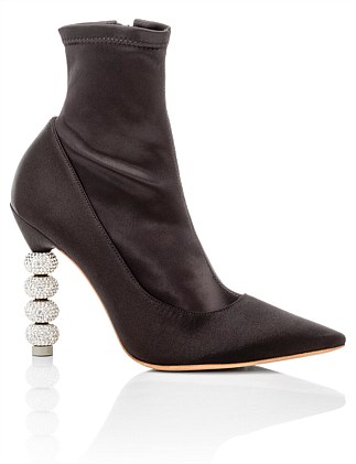 Jumbo Coco Crystal Stretch Ankle Boot