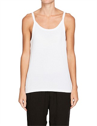 Fitted Rib Athletic Tank