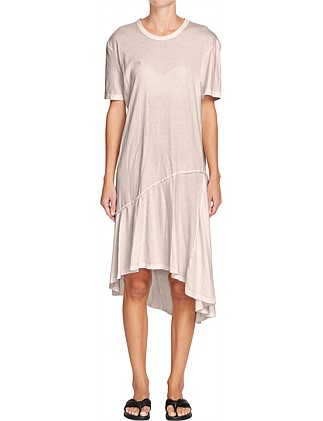 Asymmetric T.Shirt Dress